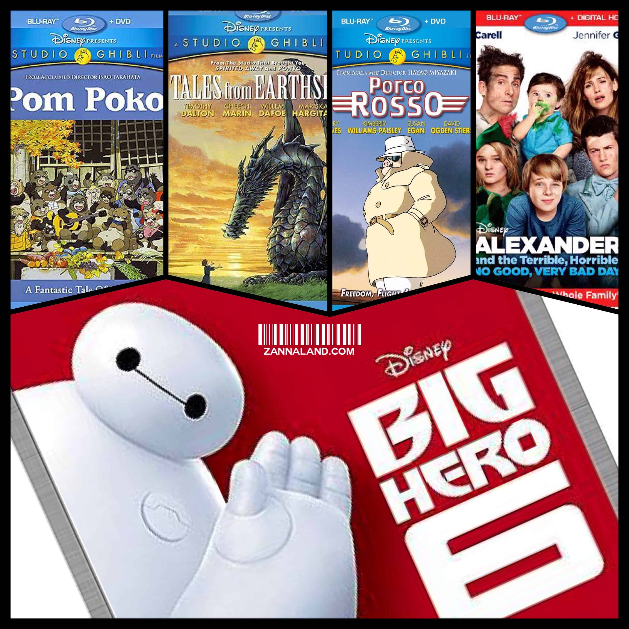 This has been a busy few weeks for Disney DVD and Blu-ray releases, and I think you'll find there's something for everyone in the list below. First, a trio of Studio Ghibli films are now available in beautiful HD picture and sound. Pom Poko, Porco Rosso, and Tales from Earthsea […]