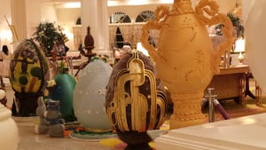 Grand Floridian Easter Egg Display 2015