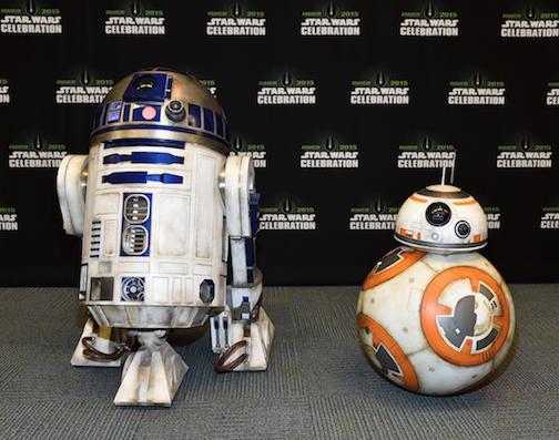 Star Wars Celebration BB8