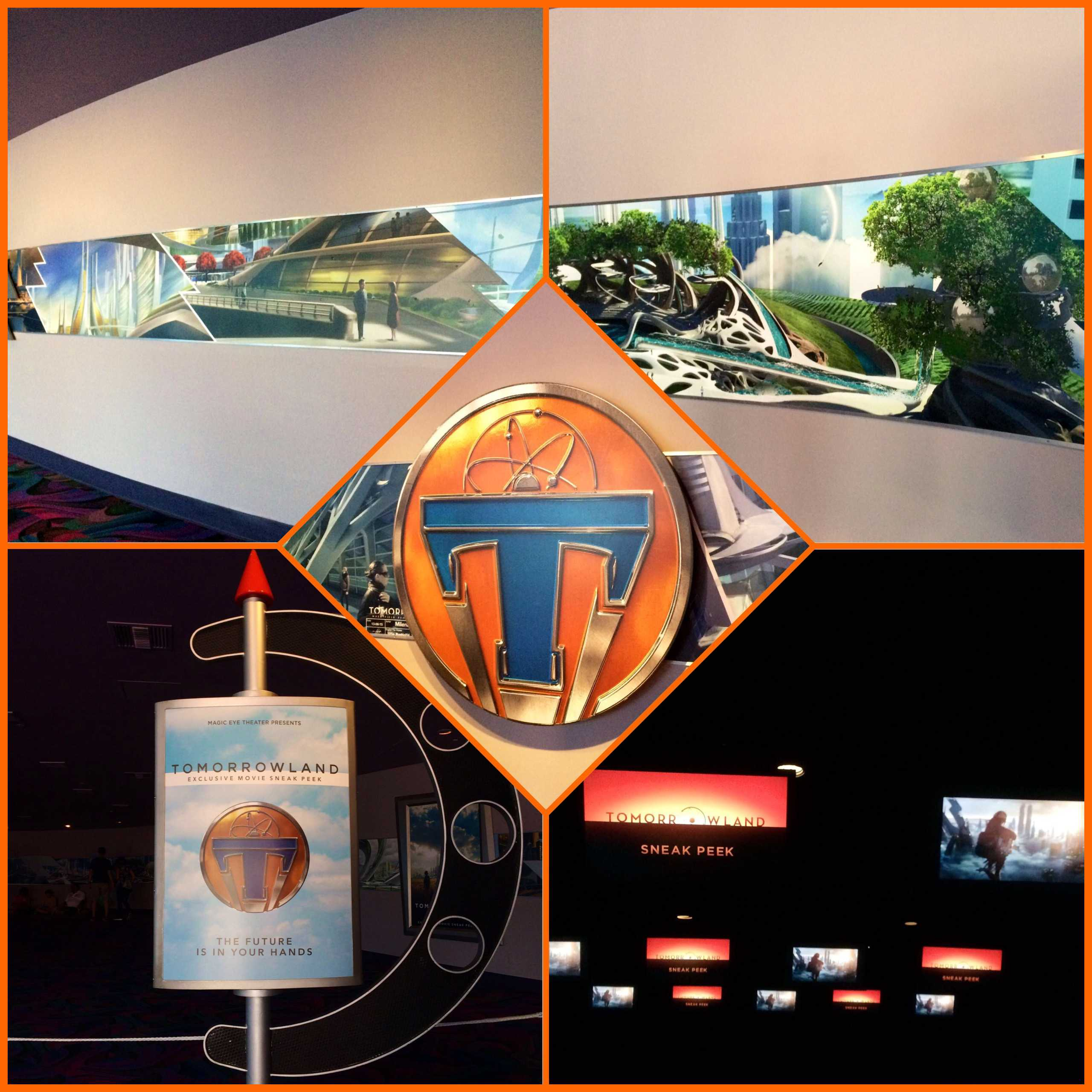 New Tomorrowland Movie Posters and Trailer – Review of the Epcot Sneak Peek