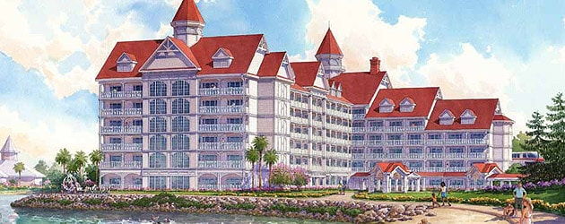 Grand Floridian DVC artist rendering