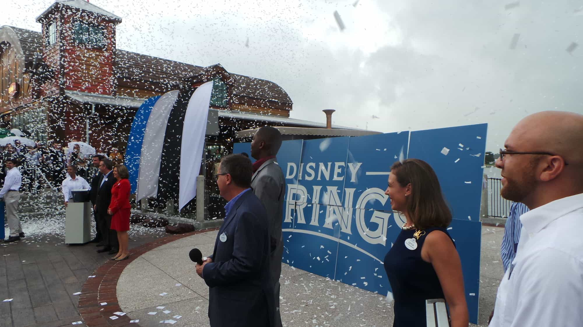 Disney Springs Opening Ceremony