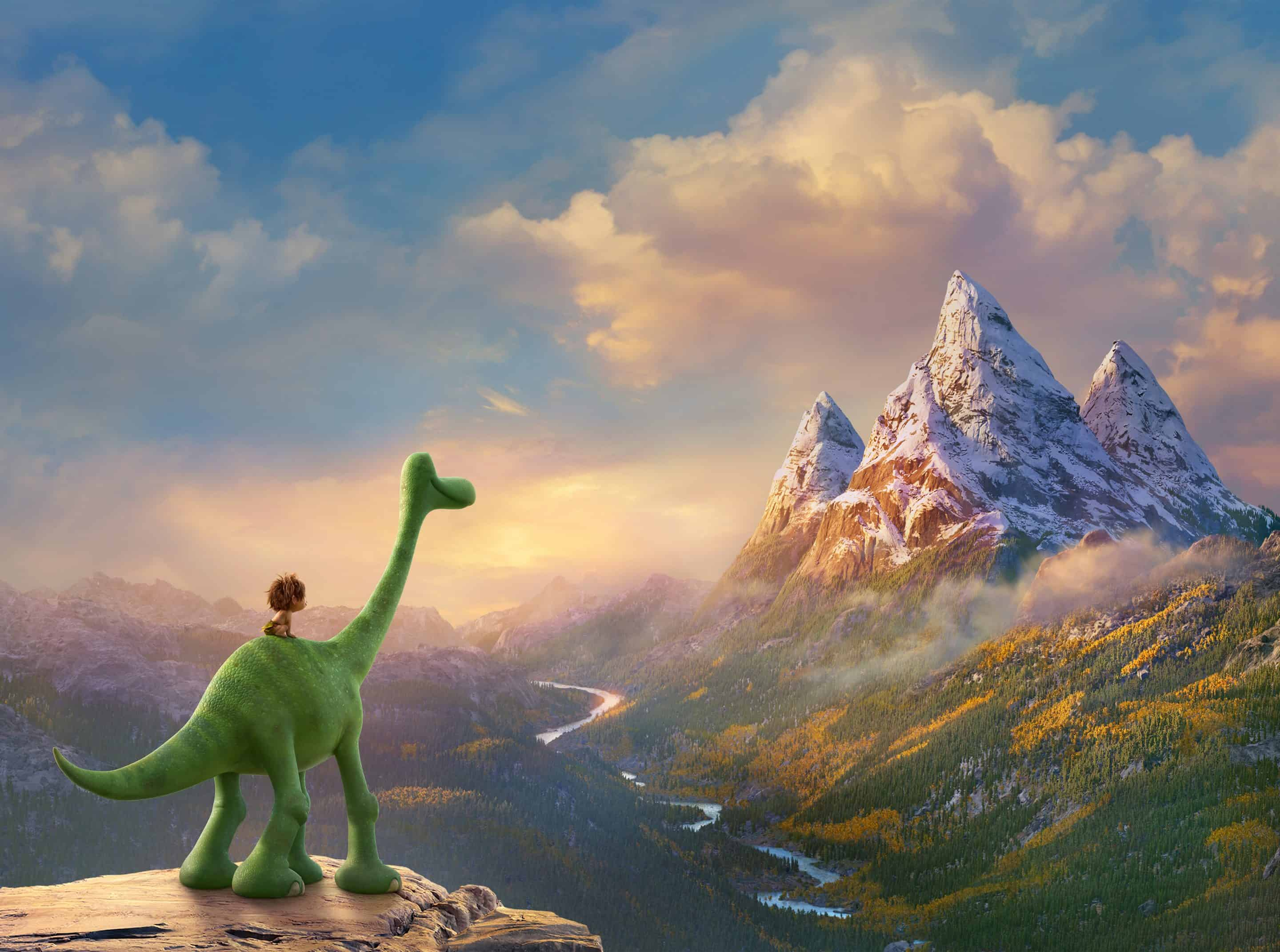 The Good Dinosaur Blu-Ray and DVD with 2 Hours of Bonus Features
