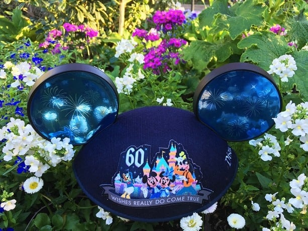 Special Disneyland 60th Ears-100% of Price Donated to Make-A-Wish!