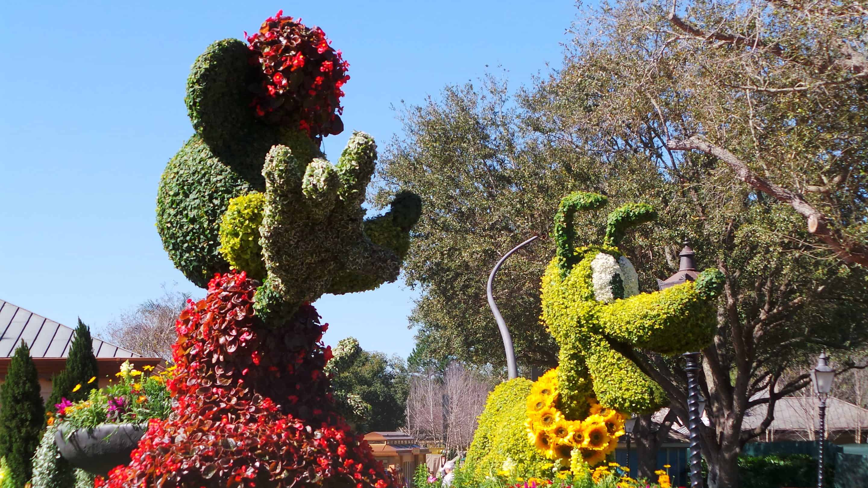 Epcot International Flower & Garden Festival 2016 Sneak Peek