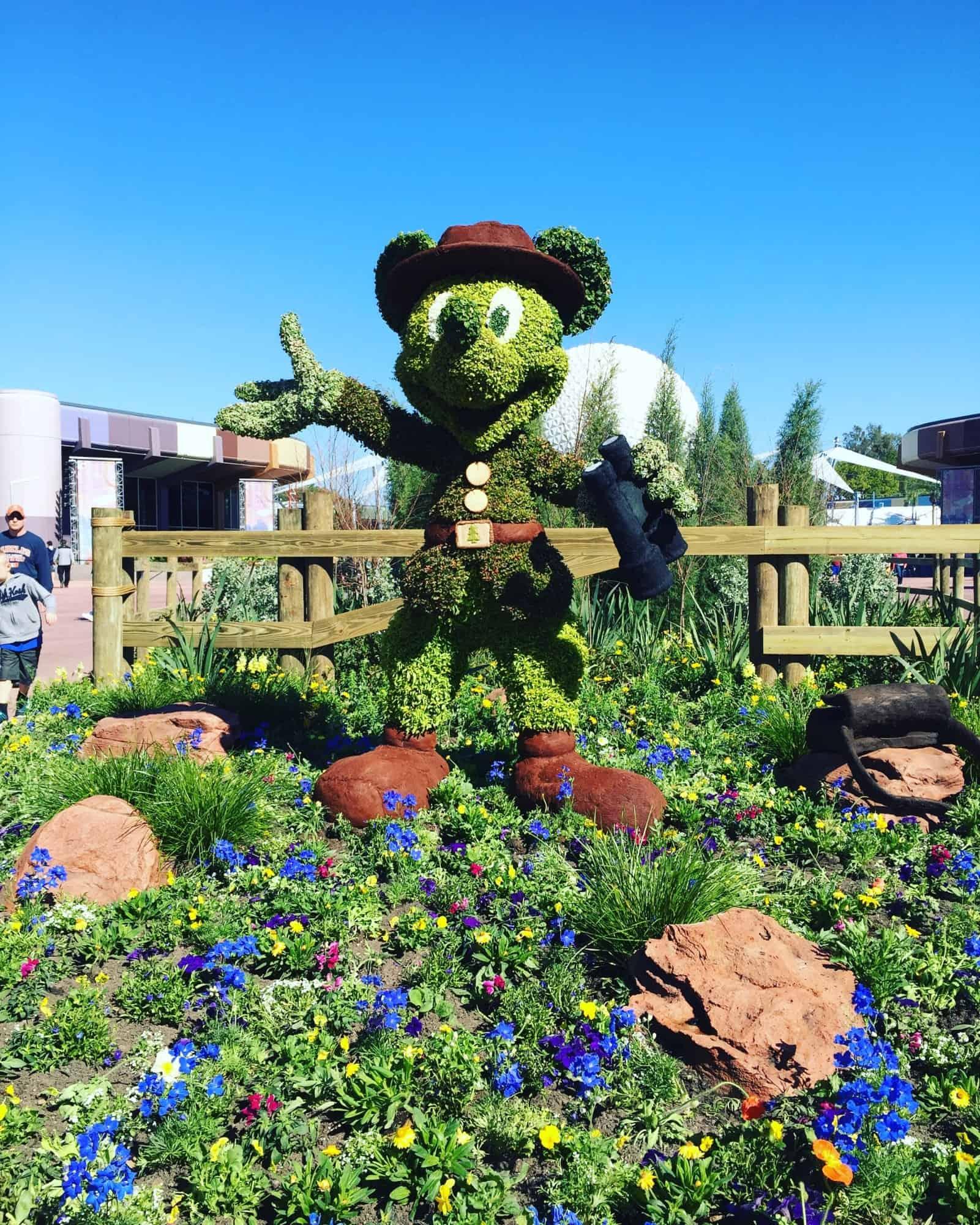 Epcot Flower & Garden Festival 2016