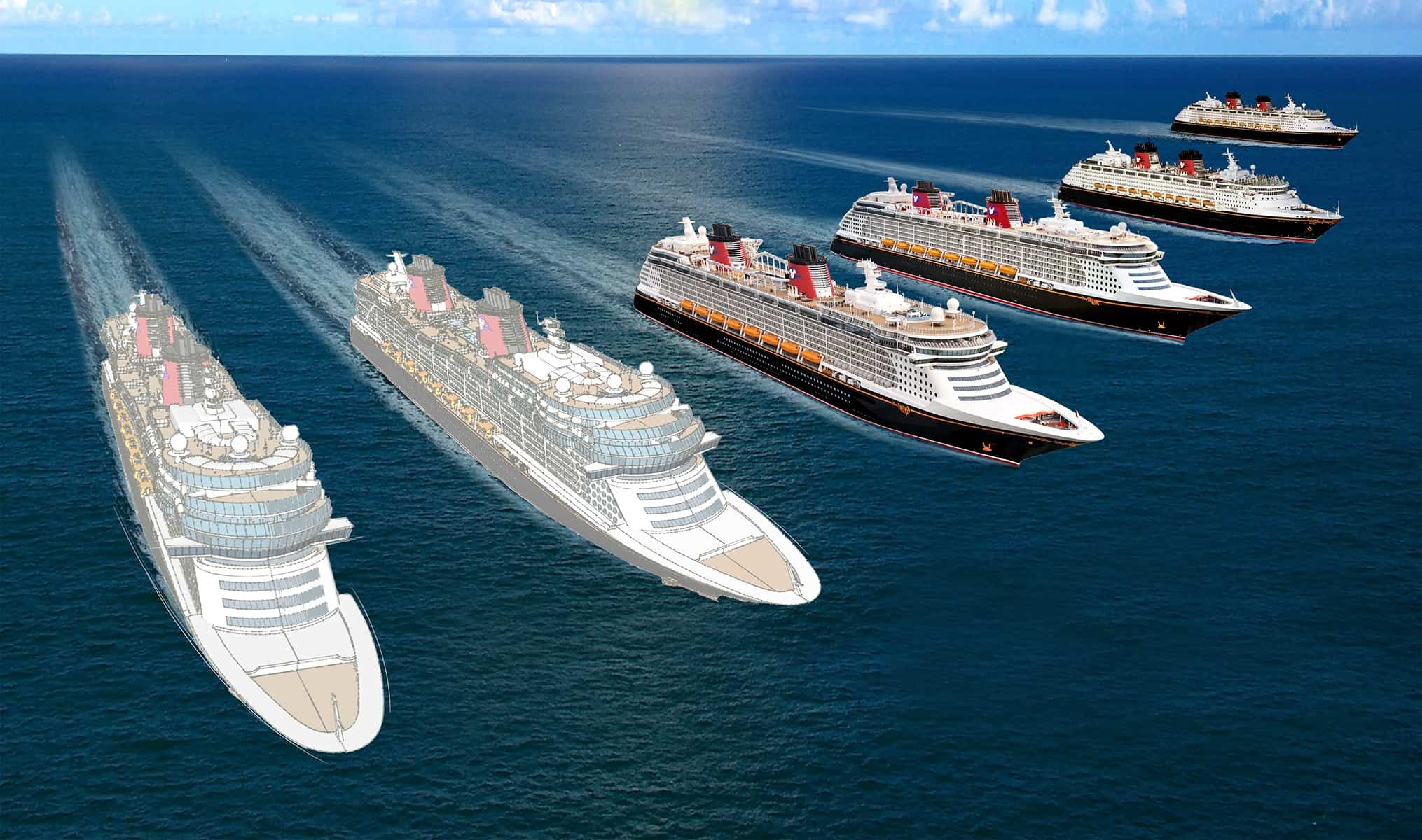 Two New Disney Cruise Line Ships on the Horizon