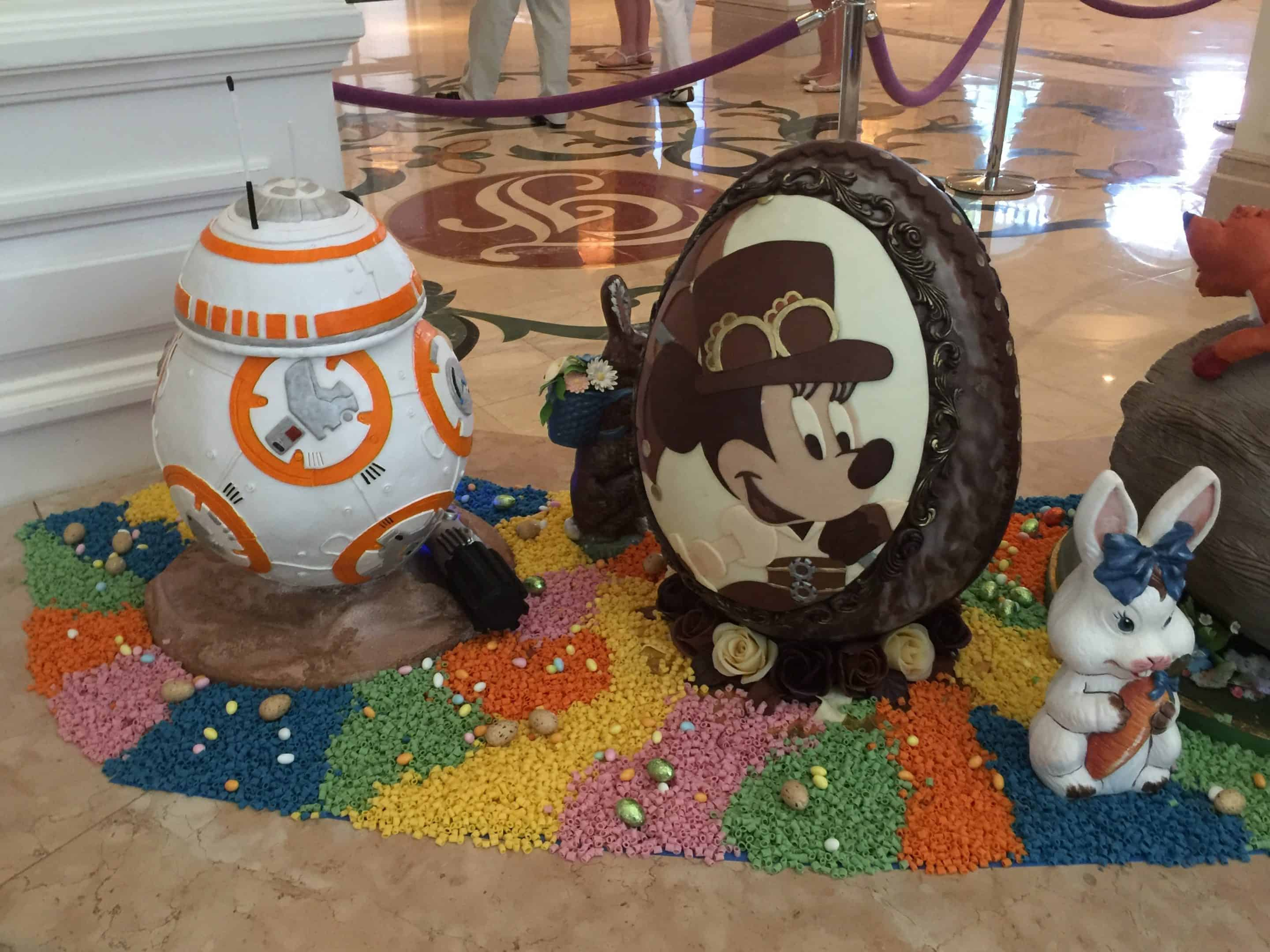 Easter Egg Masterpieces at Disney's Grand Floridian Resort