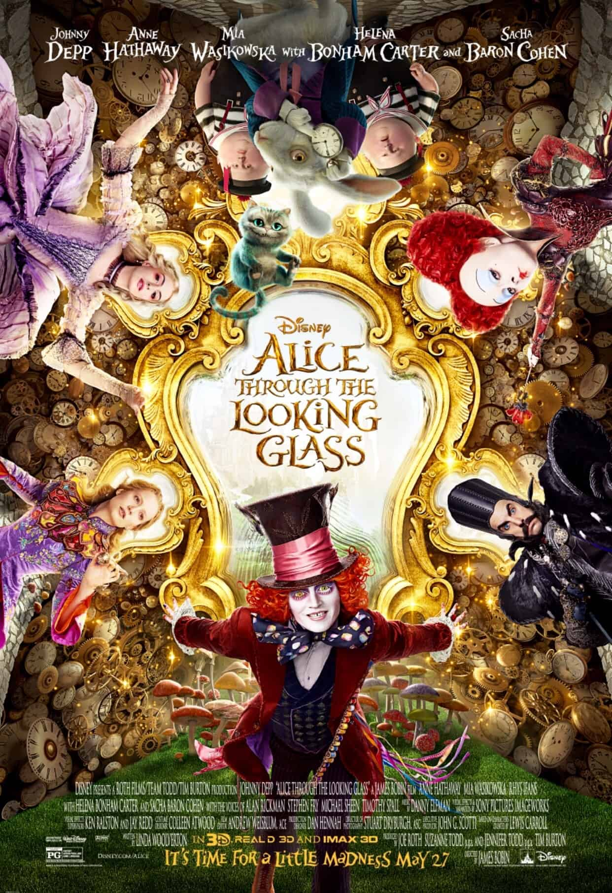 Spring Forward with a New Alice in Wonderland 2 Trailer