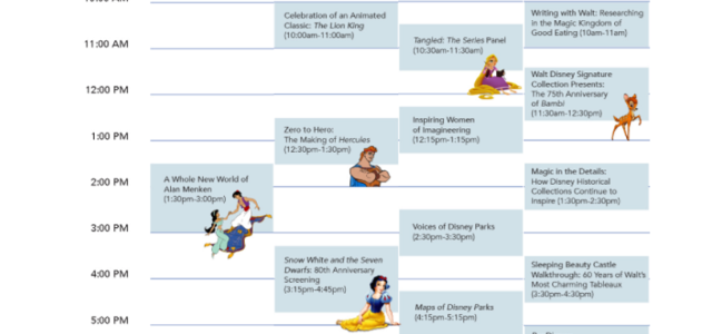 Hopefully you've been following along all of the official updates as I've been adding them to my D23 Expo 2017 Planning Guide...today the full schedule of events for Friday through Sunday was released at D23Expo.com, so I thought I'd post it here since the guide was getting so long – […]