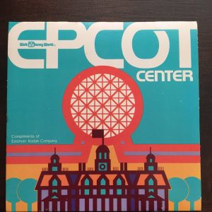 EPCOT Center 1982 map