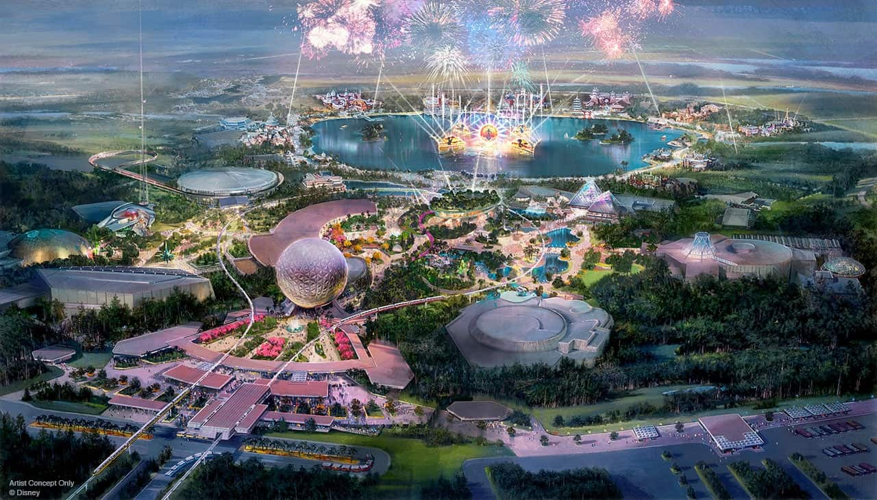 EPCOT 2019 Concept Art Updated