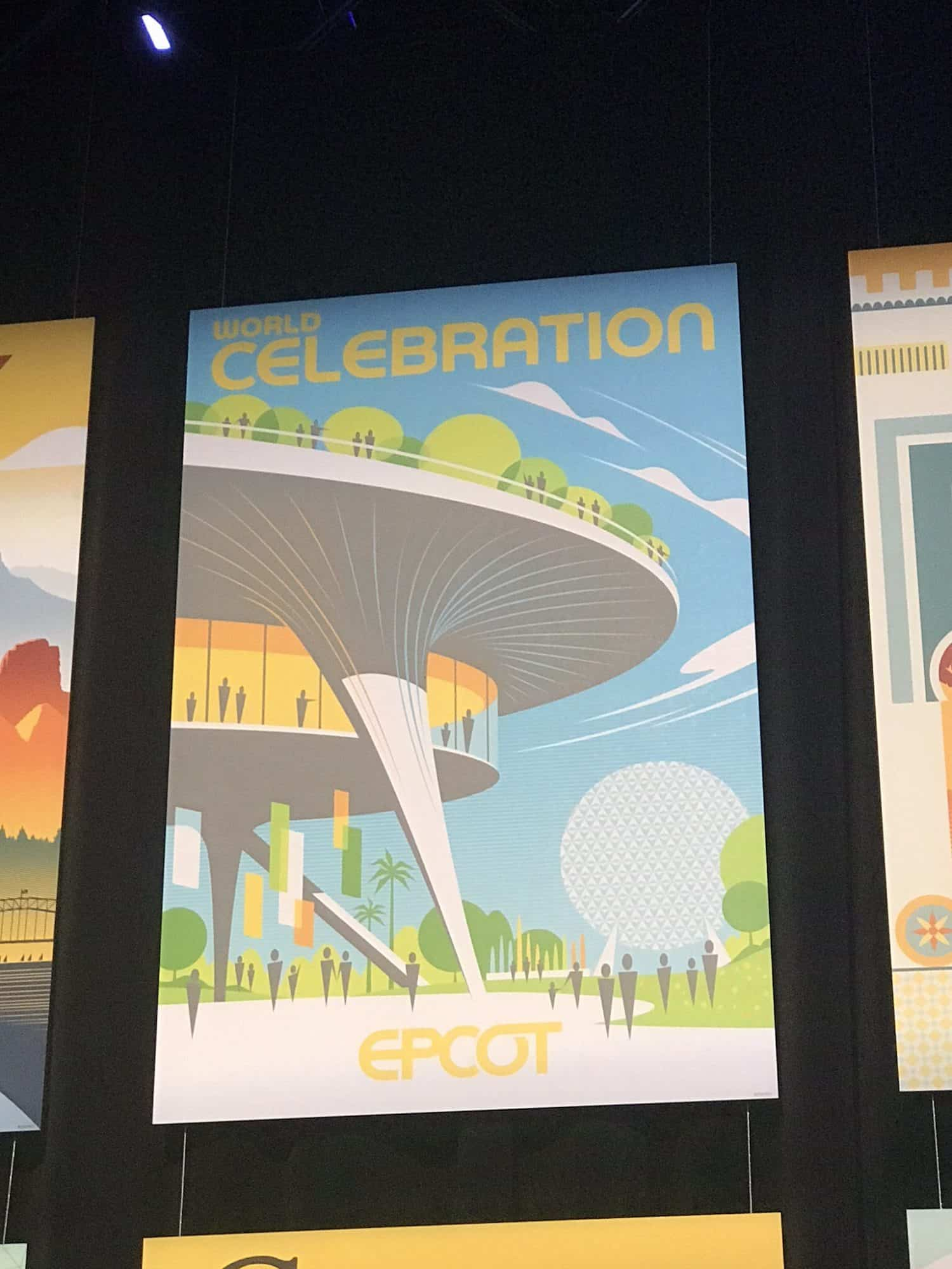 World Celebration poster EPCOT