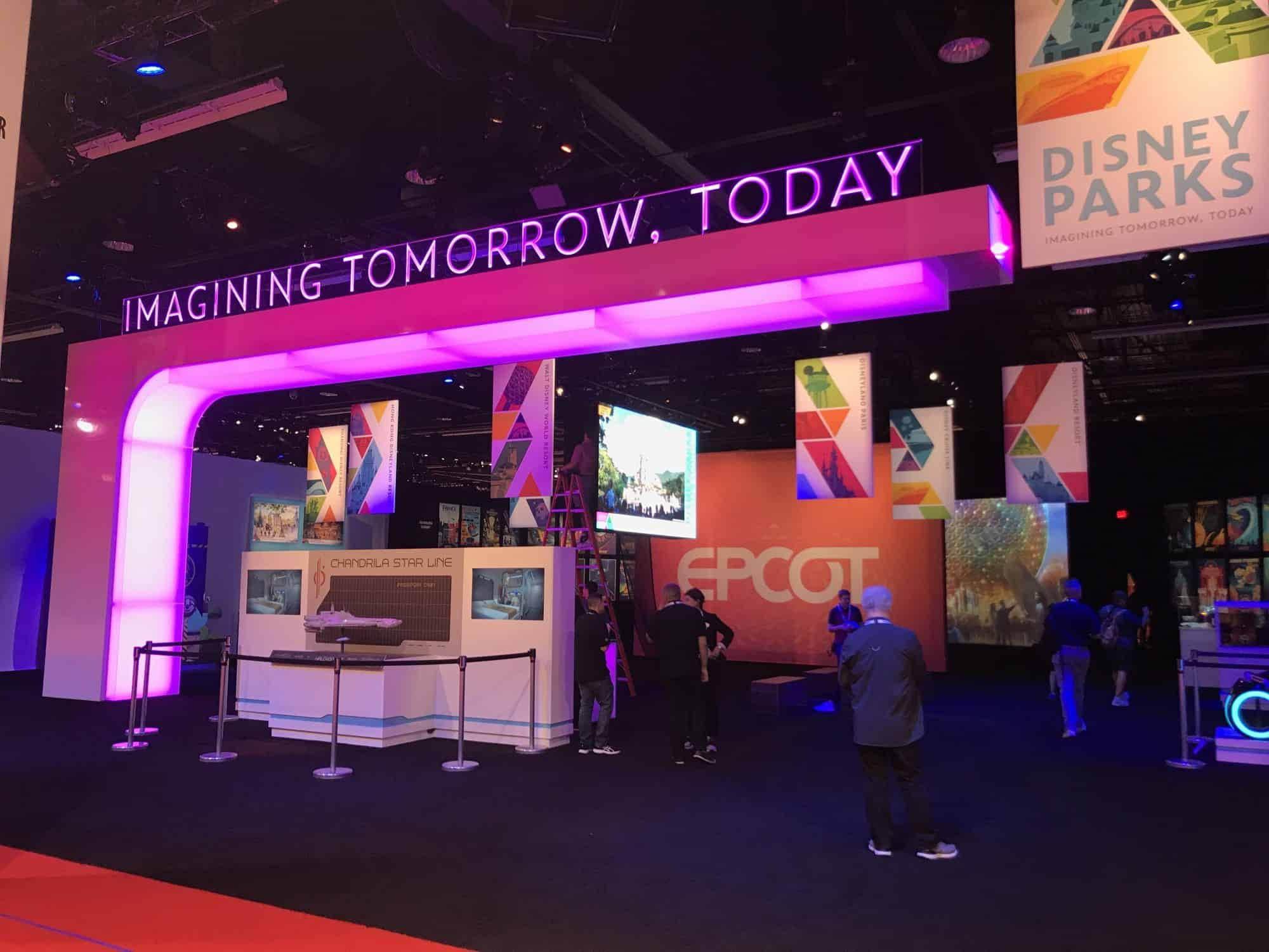 Disney Parks Pavilion at D23 Expo 2019