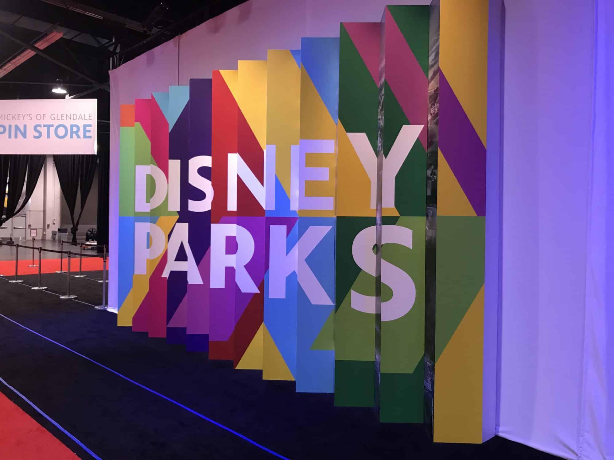 Disney Parks Pavilion D23 Expo 2019
