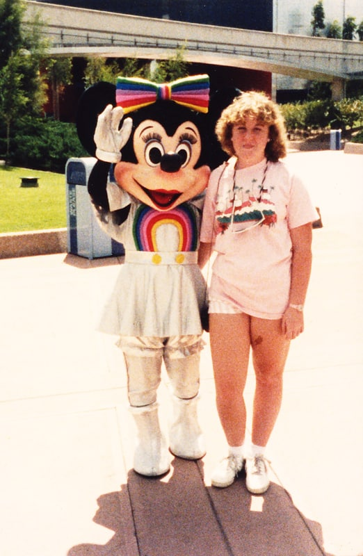 Rainbow Minnie EPCOT Center