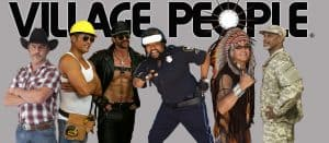 Village People headshot, Seven Seas Festival SeaWorld Orlando