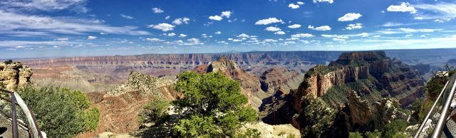 Grand Canyon North Rim panorama