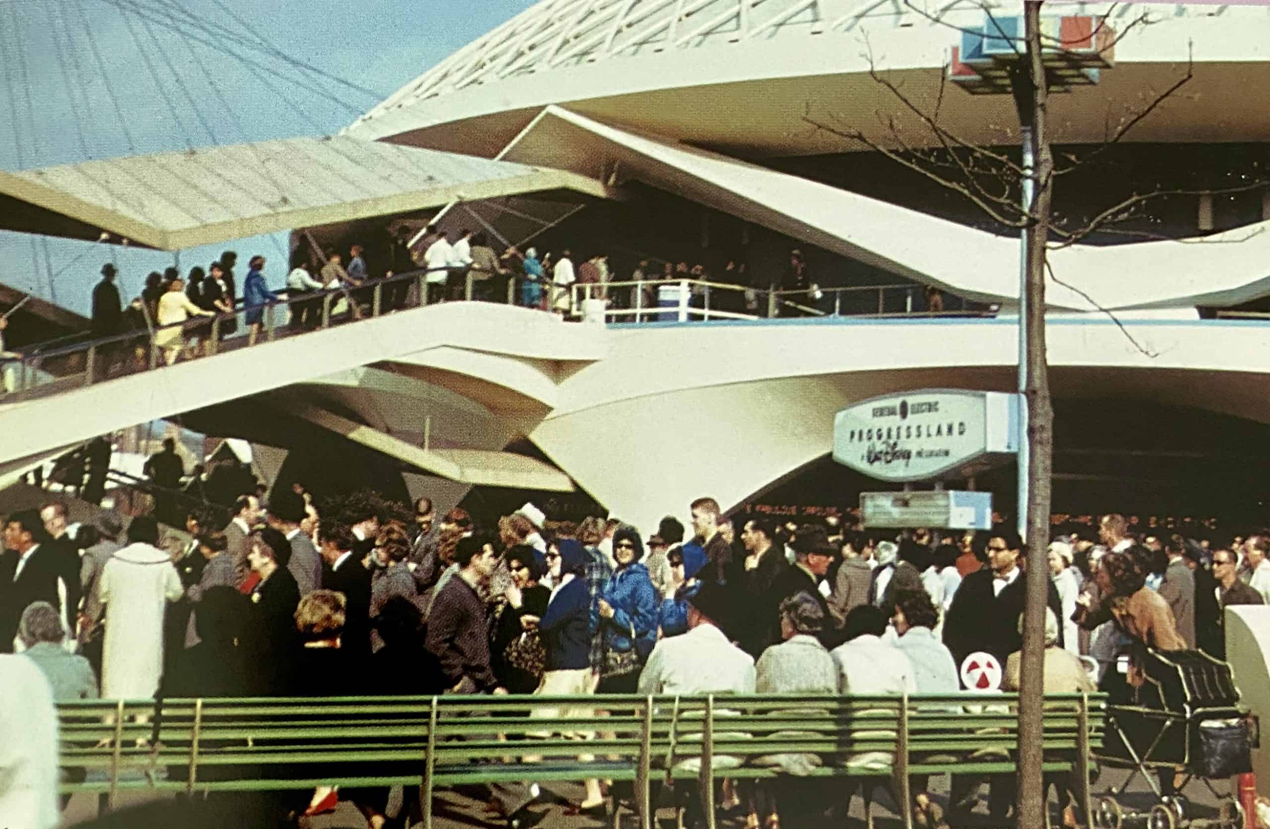Progressland pavilion at the 1964 World's Fair - a Walt Disney Production - the original Carousel of Progress