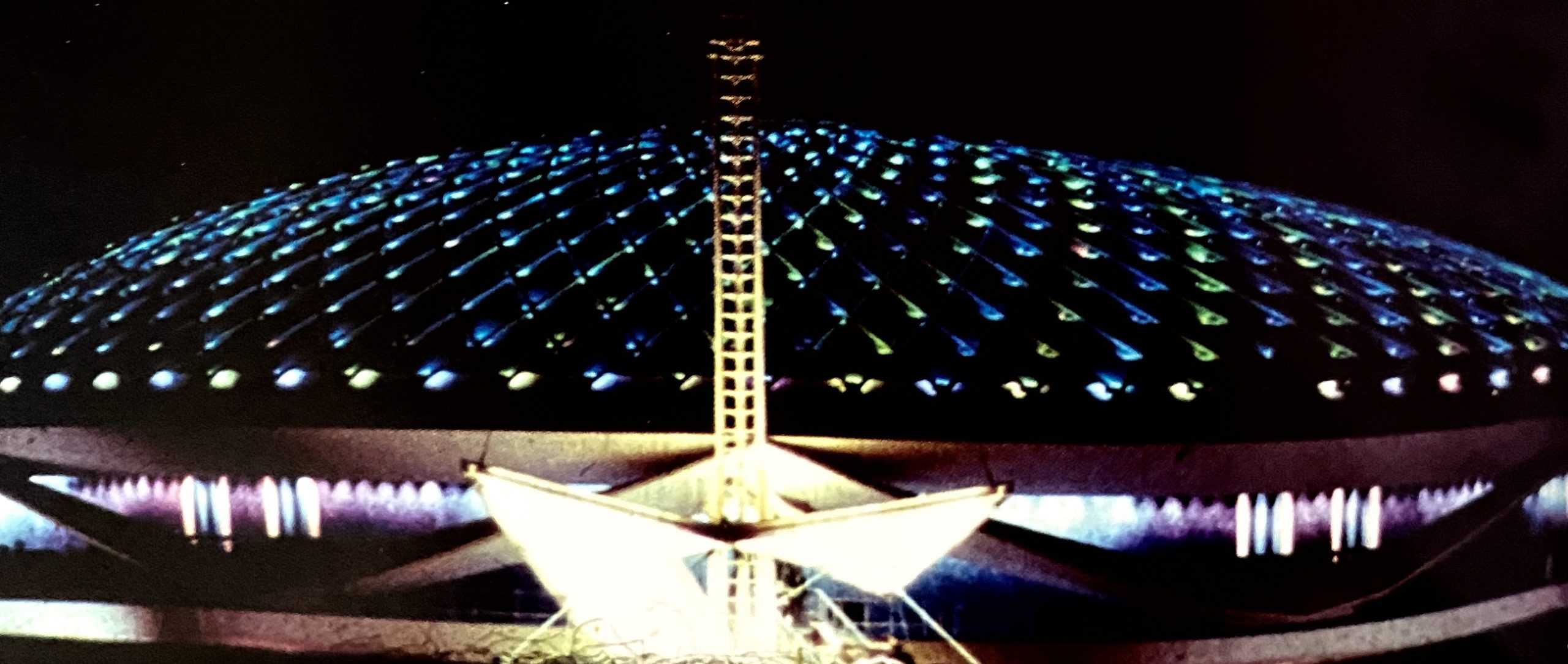 Progressland at night 1964 World's Fair