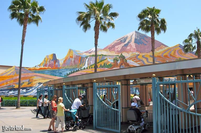 Disney California Adventure mural