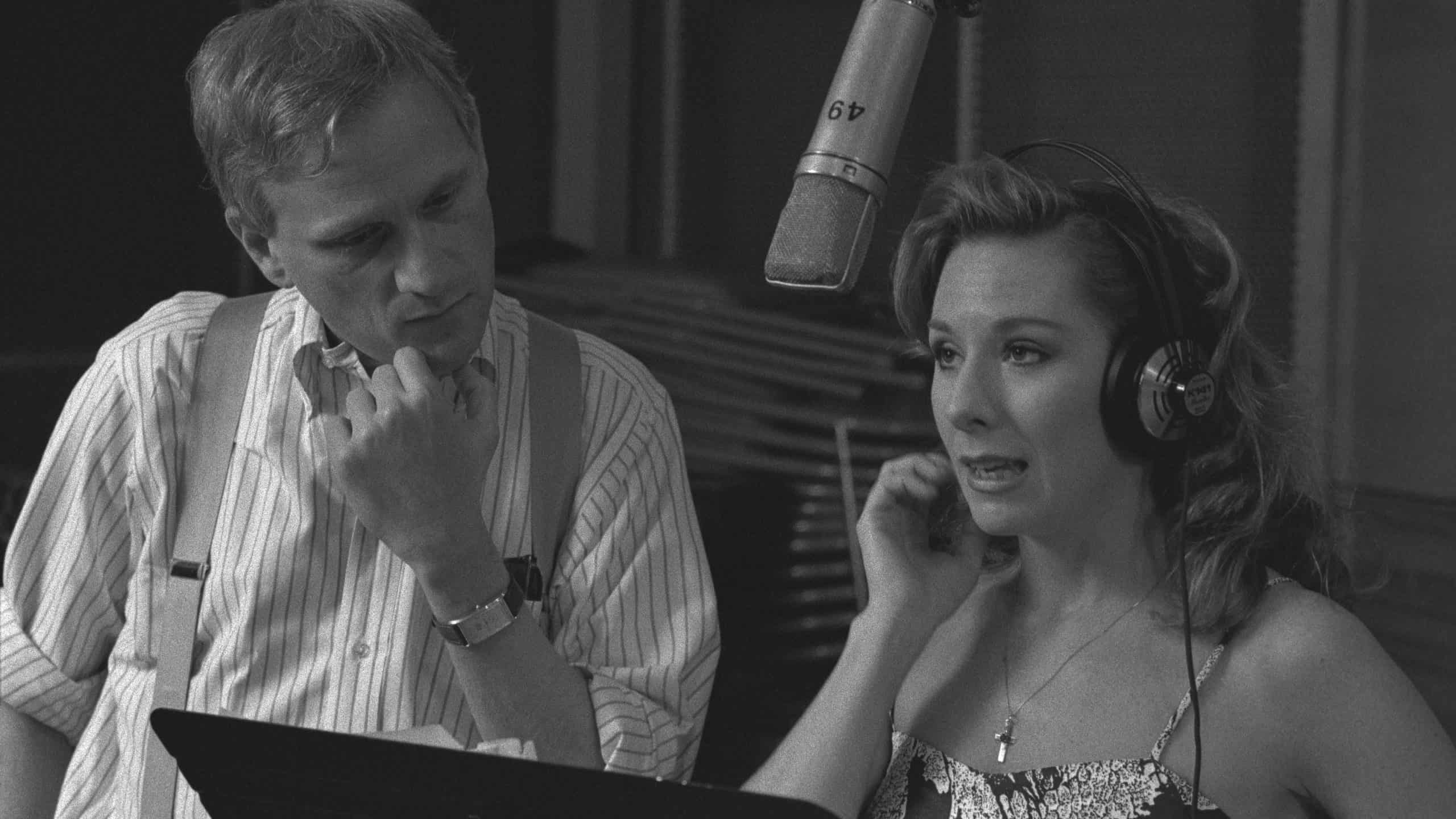 Howard Ashman and Paige O'hara