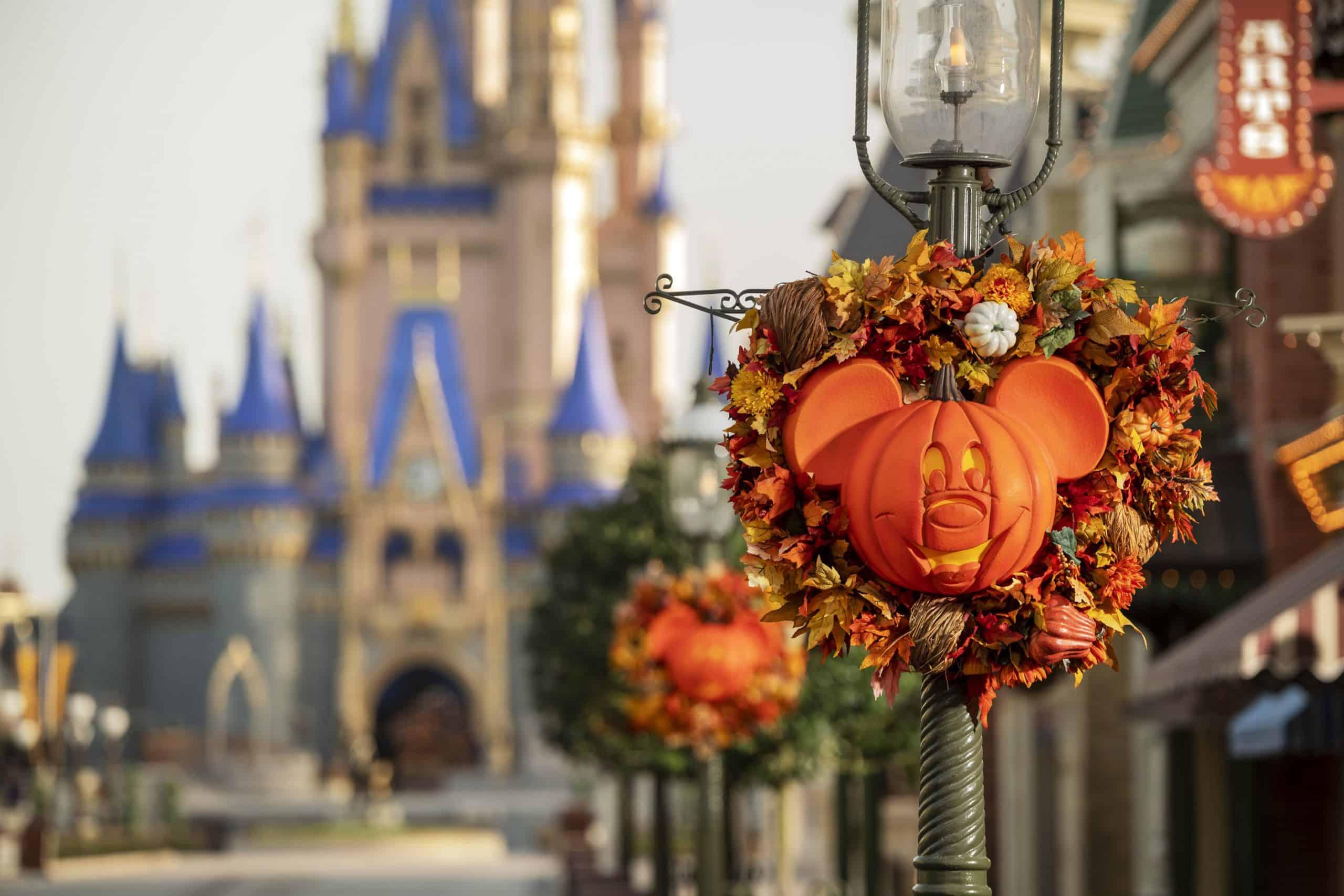 Fall 2020 decor Magic Kingdom