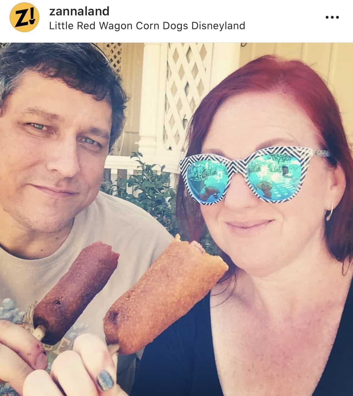 Disneyland Corn Dog