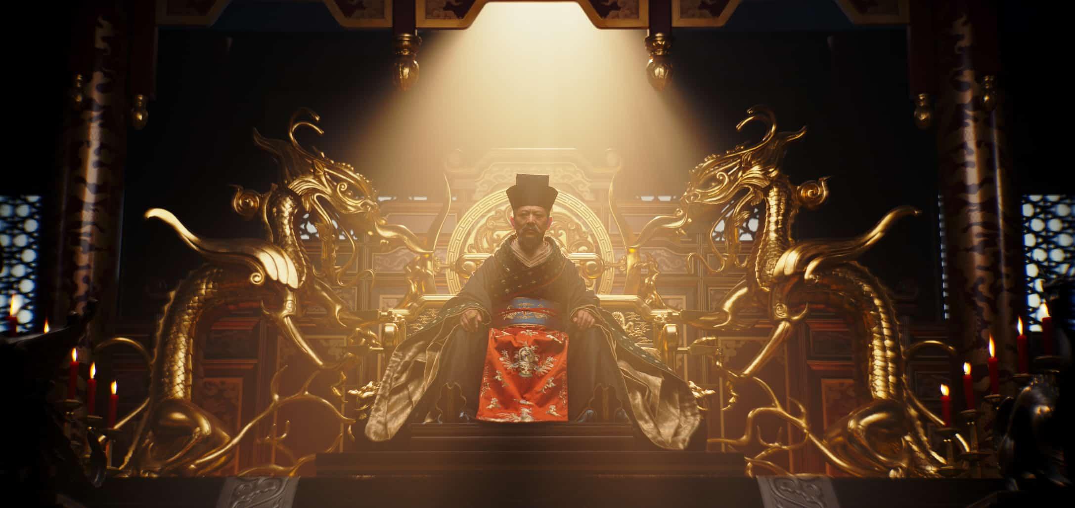 Mulan 2020 Emperor