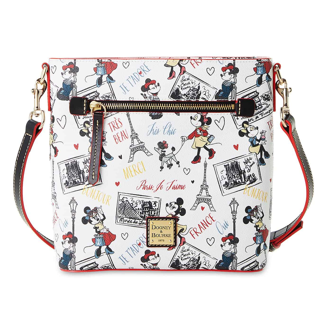 Disney Dooney & Bourke chic minnie crossbody front