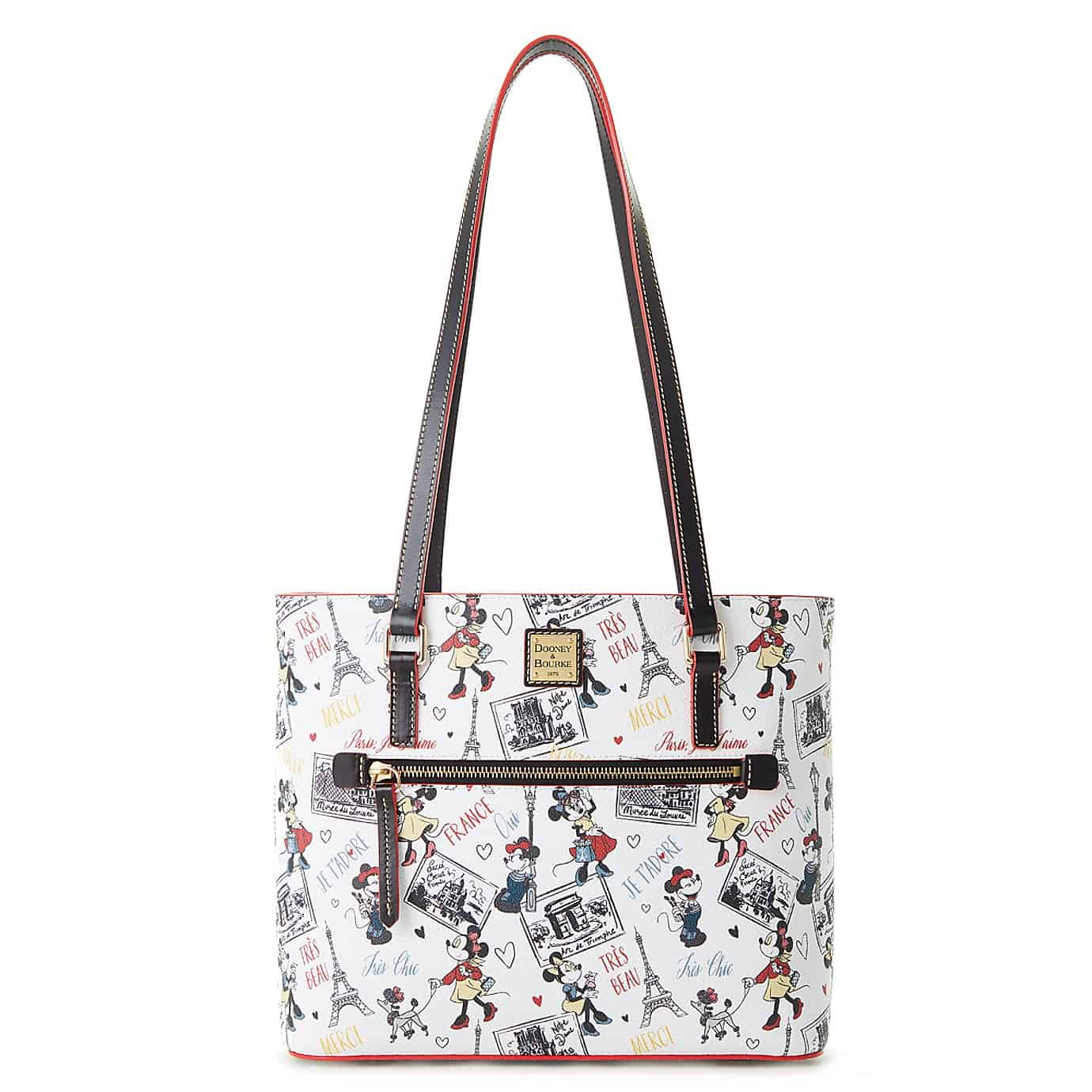 Disney Dooney chic minnie shopper tote front
