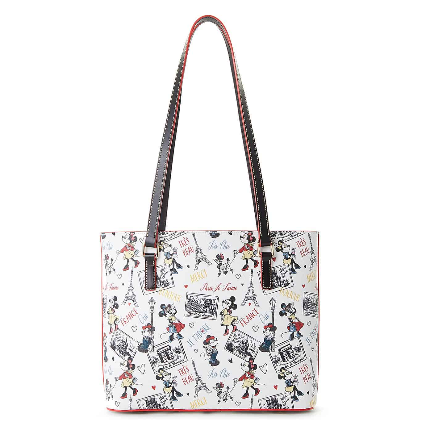 Disney Dooney chic minnie shopper tote back