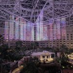 Phantom of the Atrium Light Show