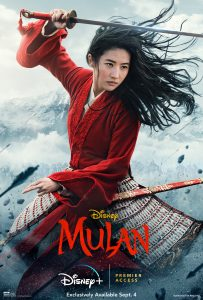 Mulan 2020 movie poster