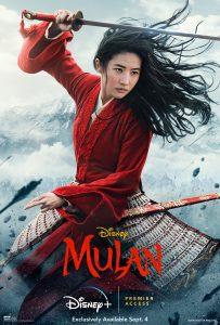 Mulan 2020 movie poster