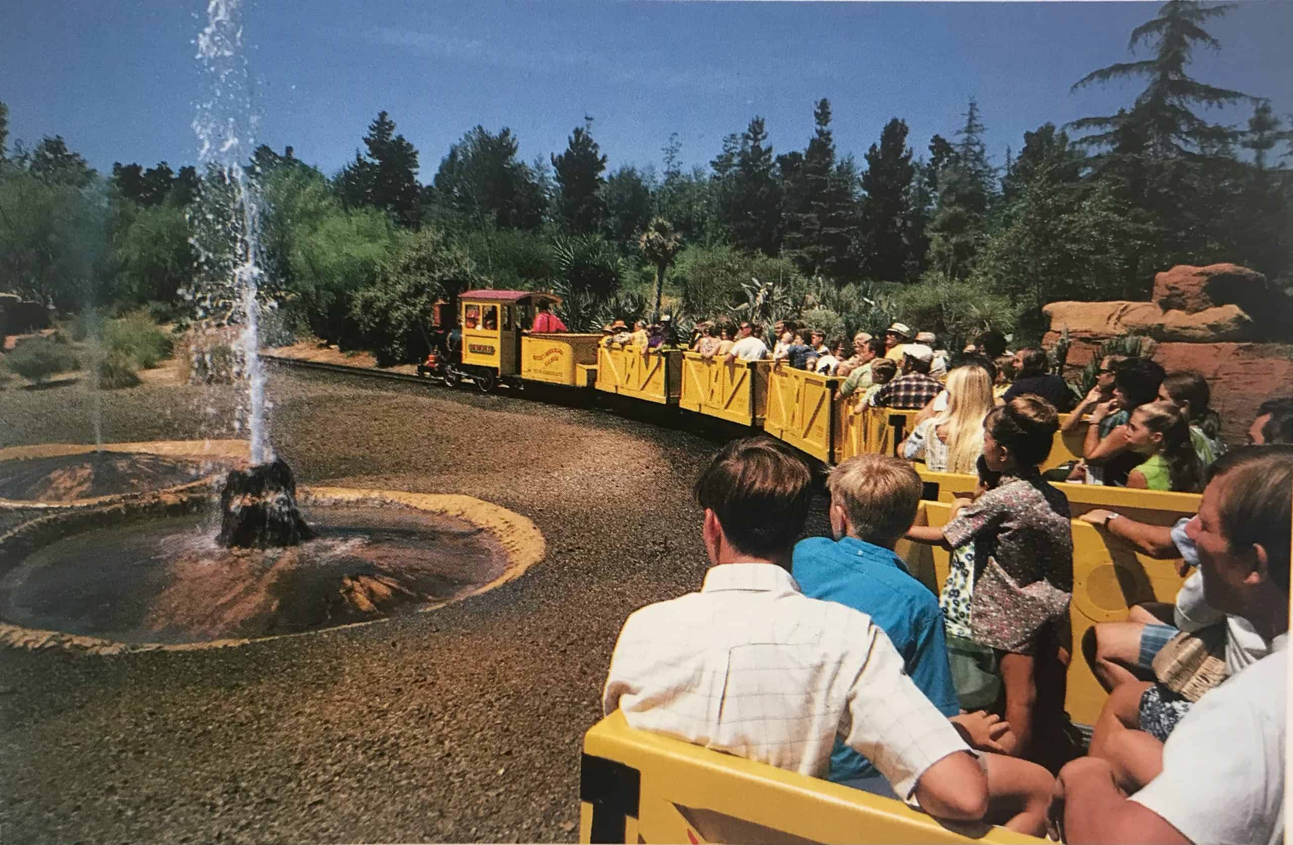 Mine Train Thru Nature's Wonderland