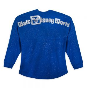 WDW Spirit Jersey Wishes Come True Blue back
