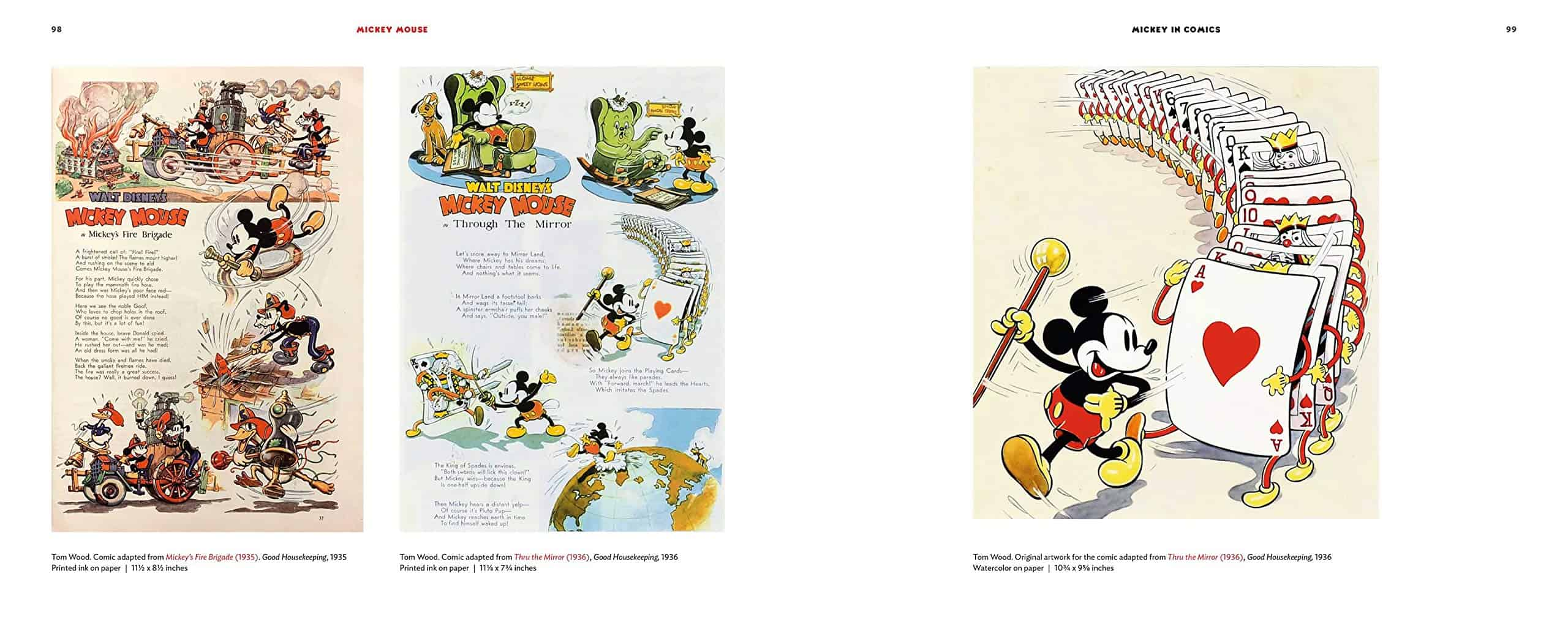Mickey Mouse Dejas book