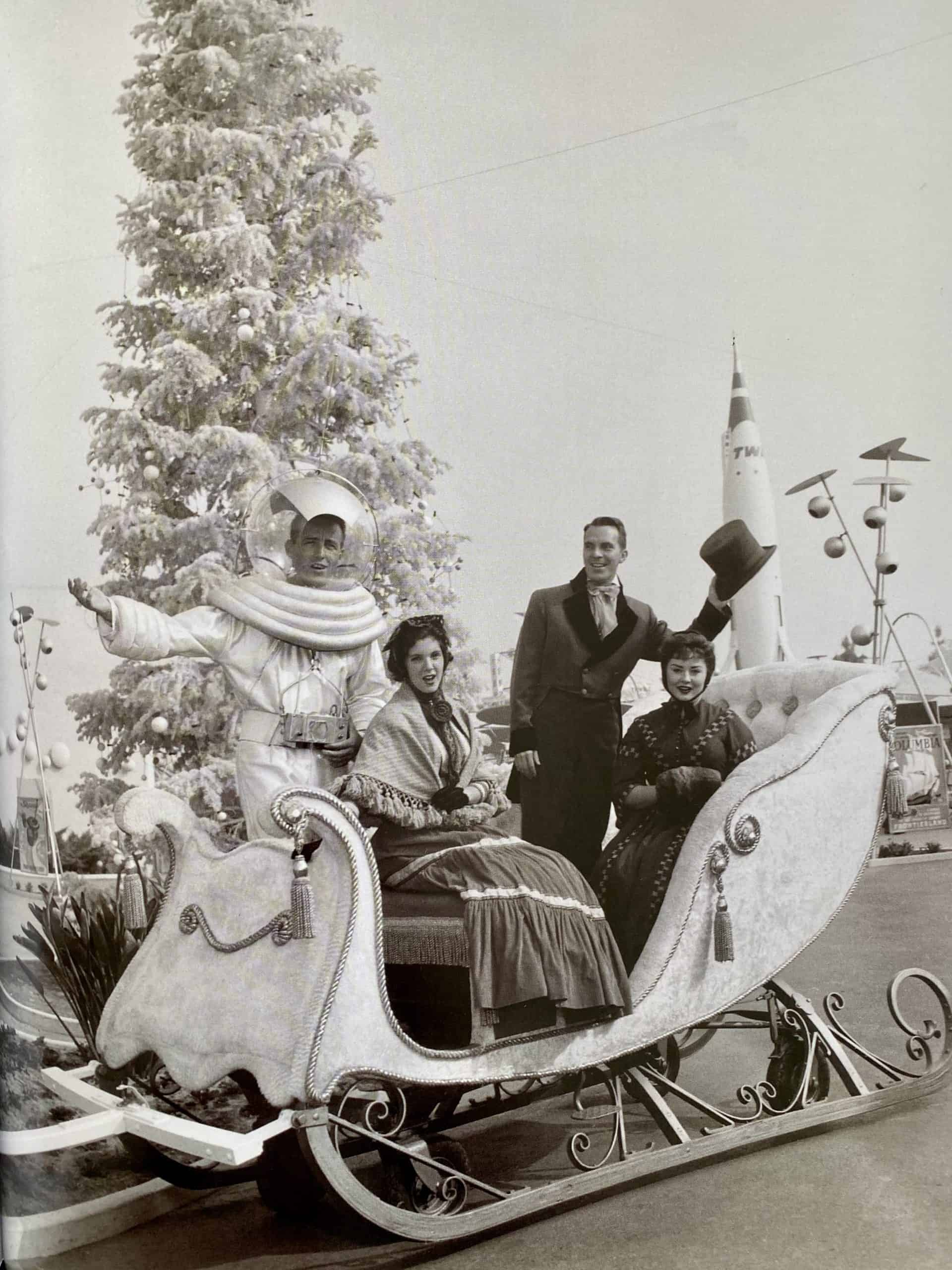 Disneyland holidays Tomorrowland