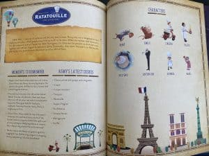 Disney Maps Ratatouille