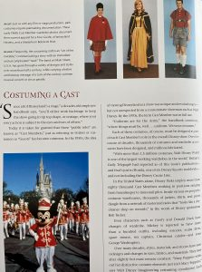 Disney Costuming book