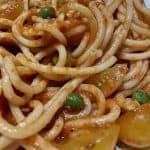 La Luce VEGAN spaghetti primavera