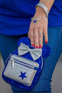 mini backpack Wishes Come True Blue