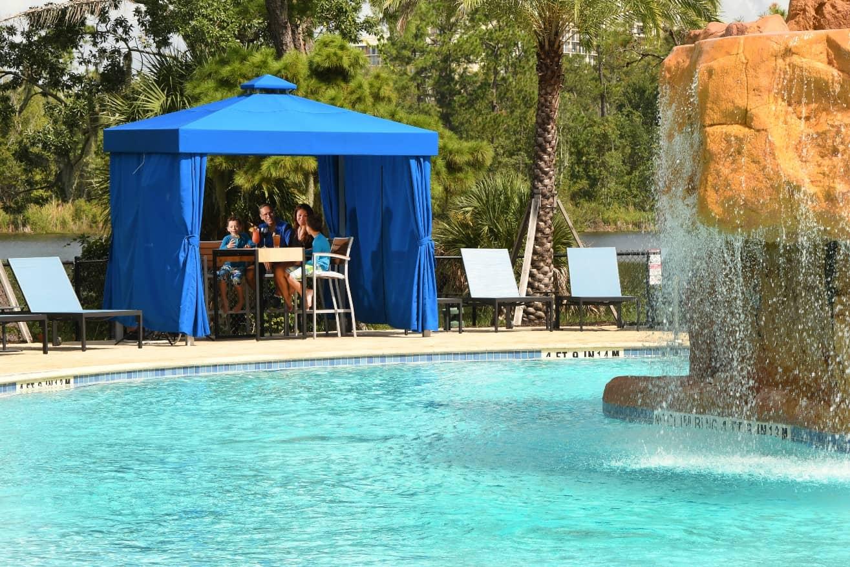 Oasis Pool Cabana Wyndham LBV