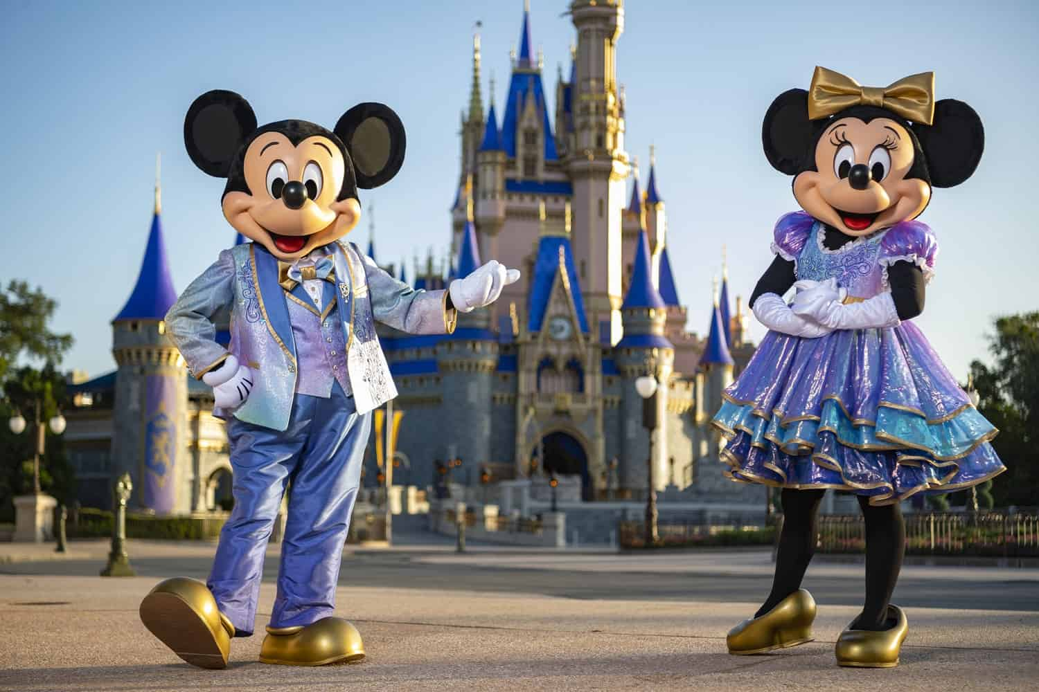 Mickey and Minnie Earidescent