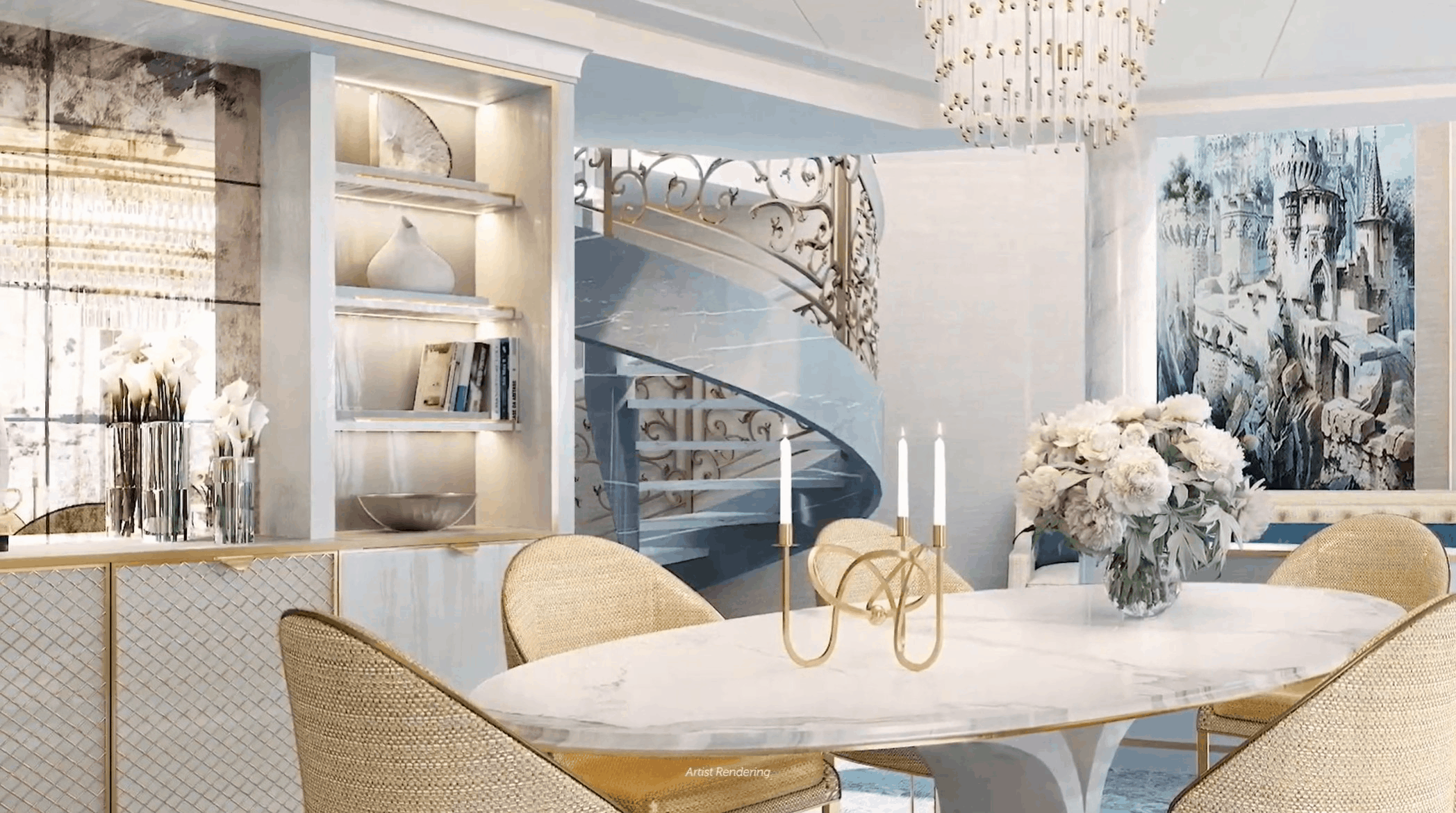 2-story suite Disney Wish