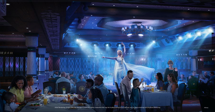 Frozen Dining Disney Wish