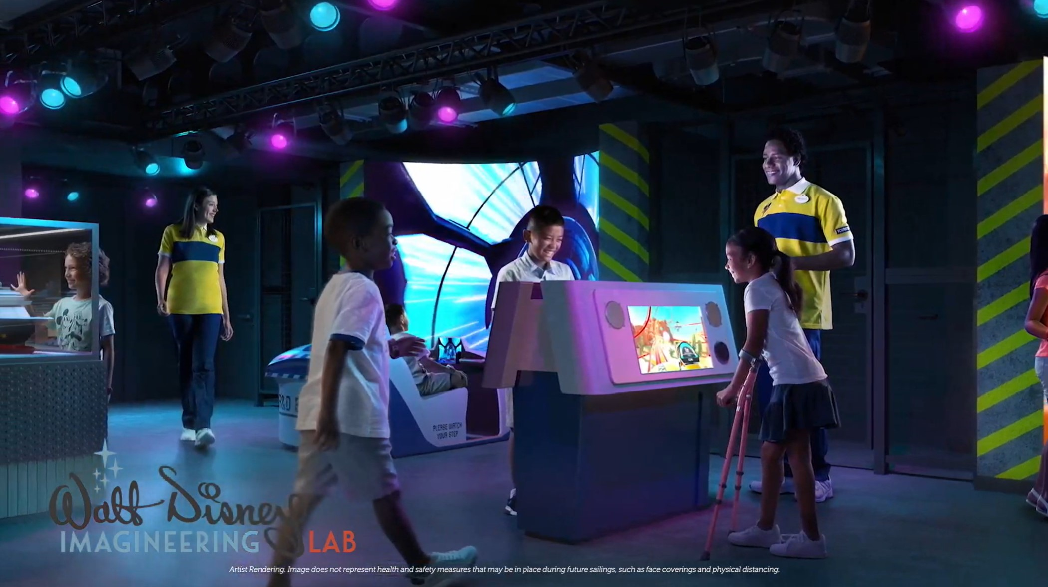 Imagineering Lab Disney Wish
