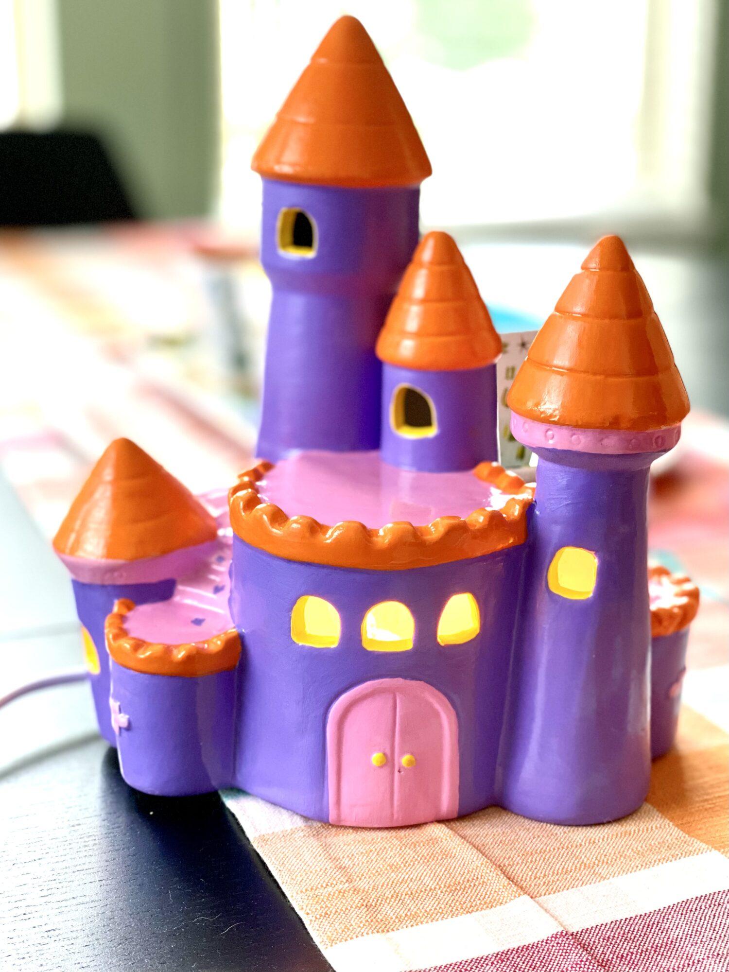 Finished Light Up Castle craft